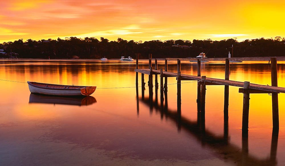 042.-Merimbula-Lake-Sunrise-Copyright-Mark-Gray